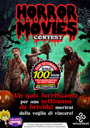 HORROR MOVIES Contest